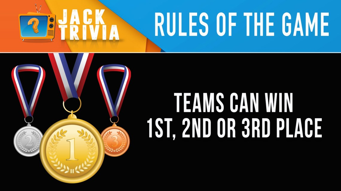 TRIVIA RULES OF THE GAME
