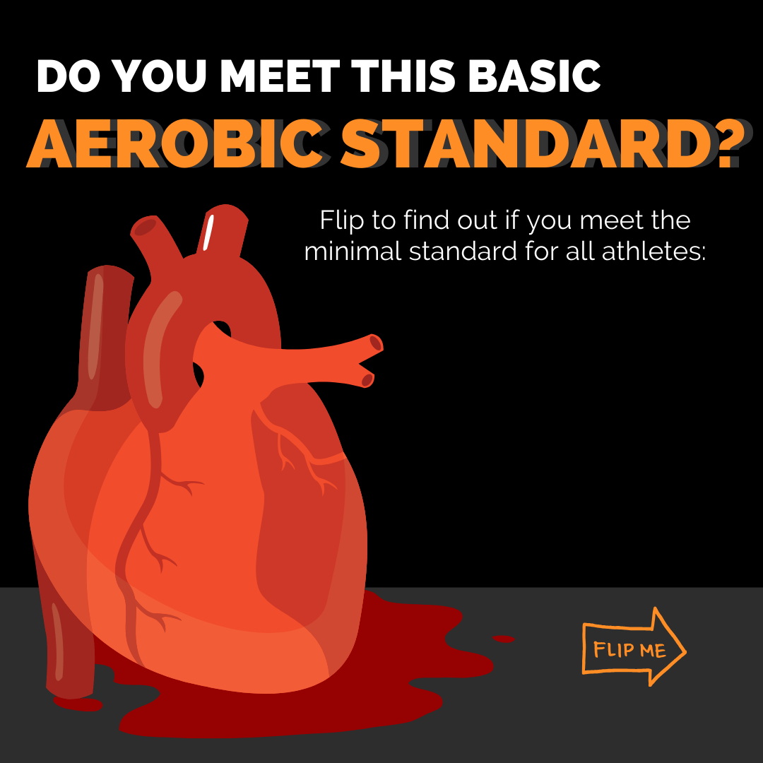 Aerobic standard for athletes