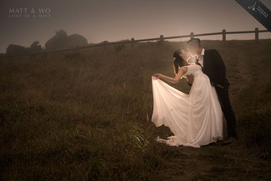 Wedding Photography in Shing Mun Reservoir in Tai Mo Shan