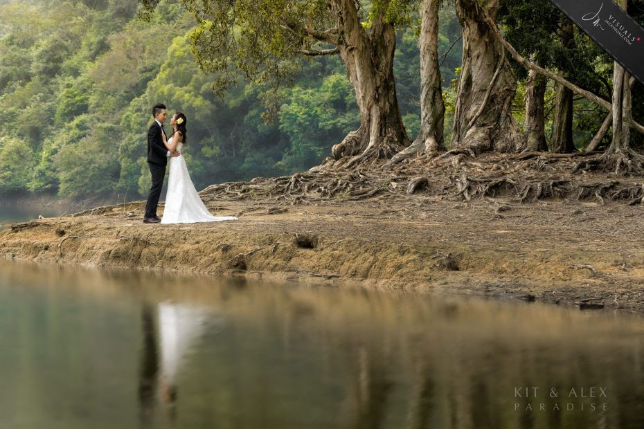 Pre-wedding in Shing Mun Reservoir