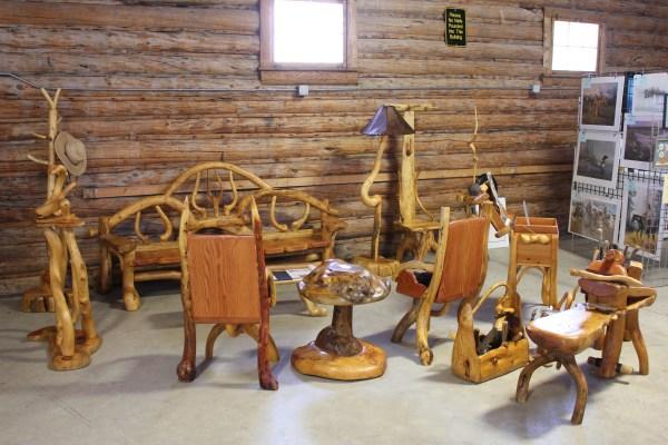 Tree Art Furniture . Jack Waller Jr' Southwest