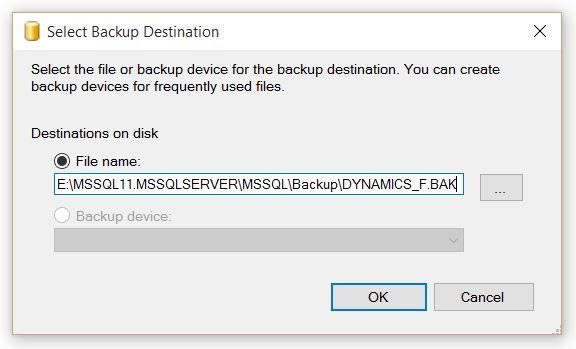 SelectBackupDestination