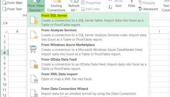 Creating And Inserting Data Into A Temporary Table In SQL Server