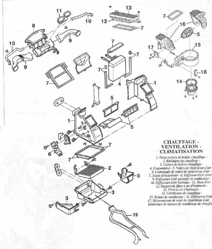 schema moteur ford focus tdci