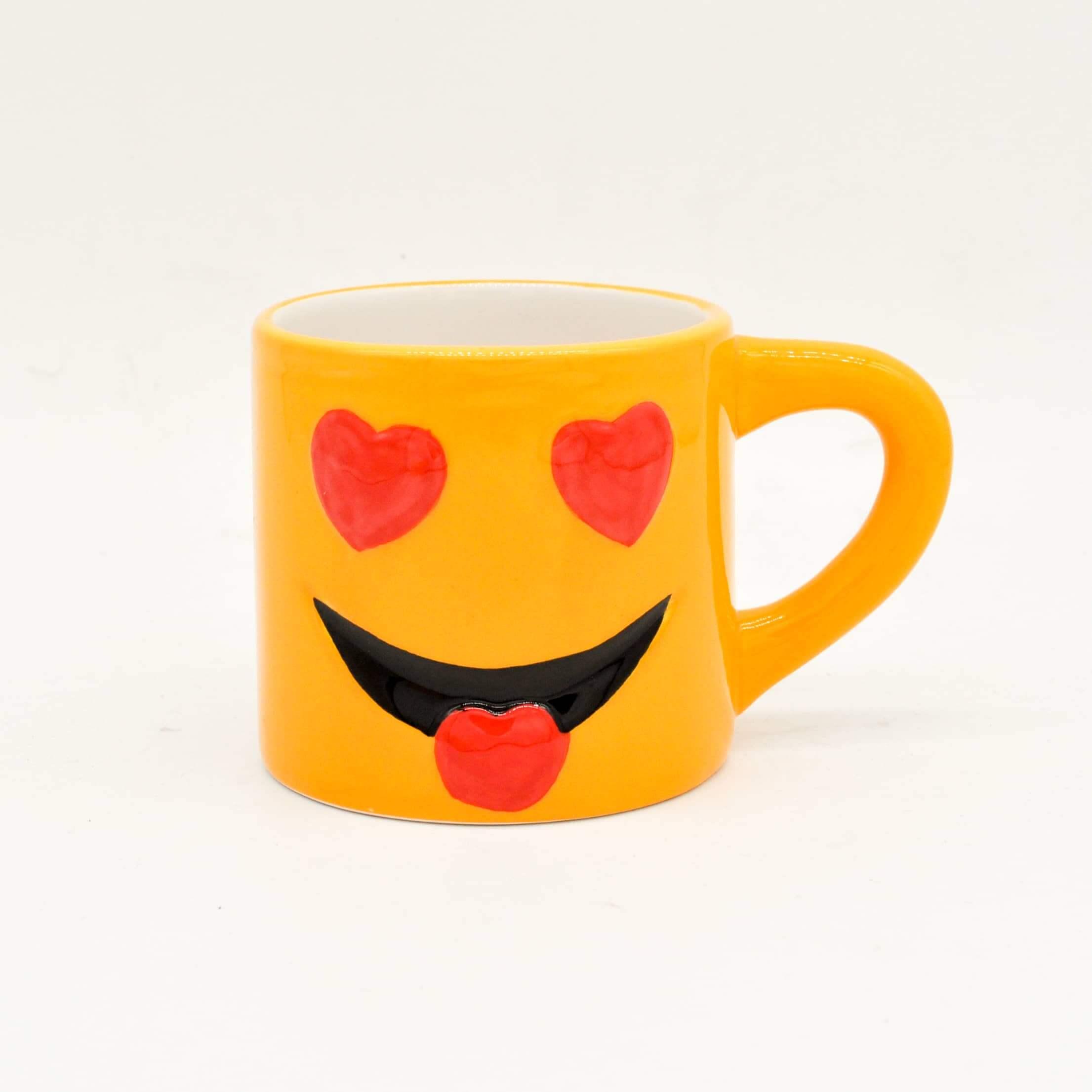 8oz Emoji coffee mug  Yongchuan Ceramics CoLtd