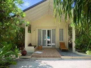 Zimmer auf den Maldiven