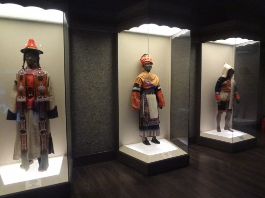 Some traditional Chinese ethnic/minority clothes.