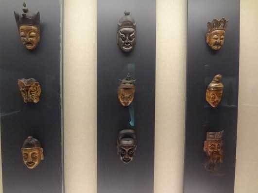 Some more Tibetan masks.