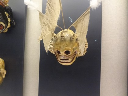 An old Chinese skull mask. I think it was Tibetan.