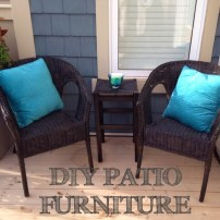 DIY Patio Furniture Redo