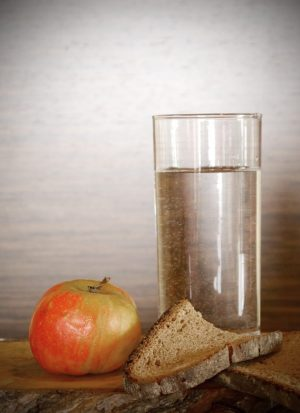 Avoid drinking with your meal-water