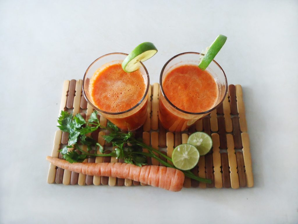 Living Carrot Juice Smoothie