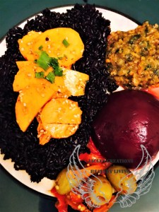 Raw Sweet Potato & Heirloom Rice