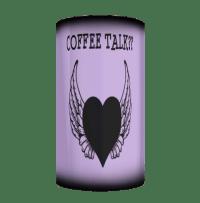 Coffee Talk Purple Mug