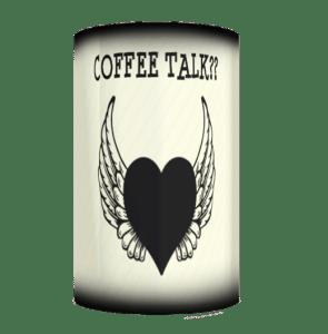 Coffee Talk Stripes