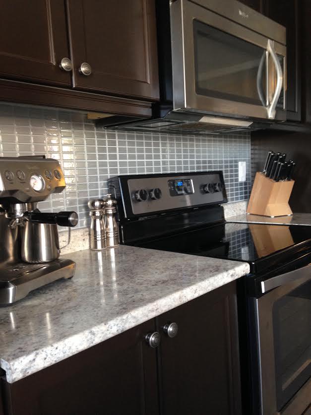 Diy Kitchen Backsplash Feat Smart Tiles