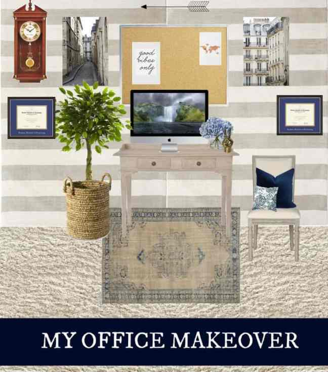Jaclyn Colville Office Makeover 1