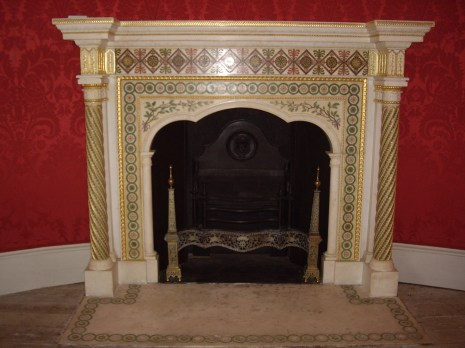 Fireplace, The Round Room