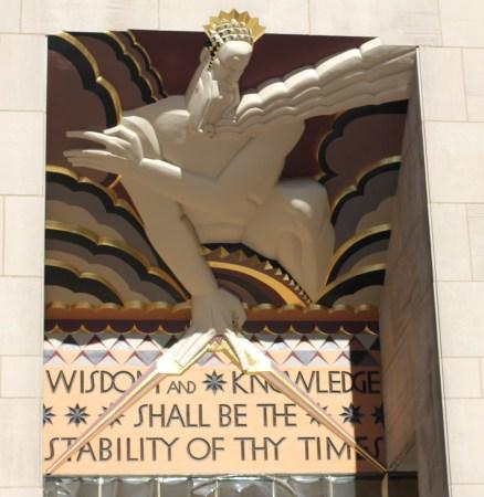 Rockefeller Centre Entrance
