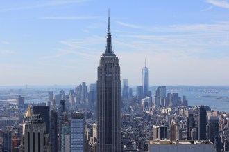 Empire State Building from Top of the Rock