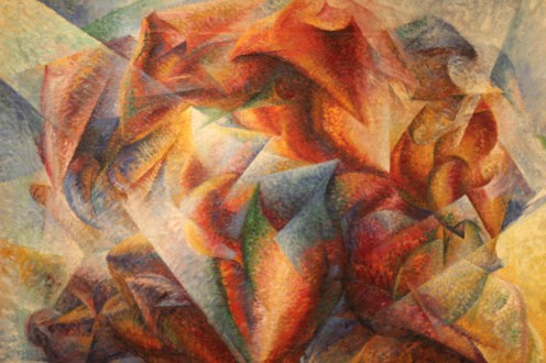 Dynamism of a Soccer Player, by Umberto Boccioni - where is he?