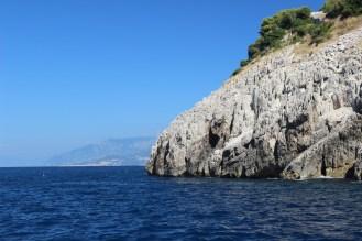Capri Boat Cruise View