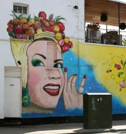 Camden High Street Mural