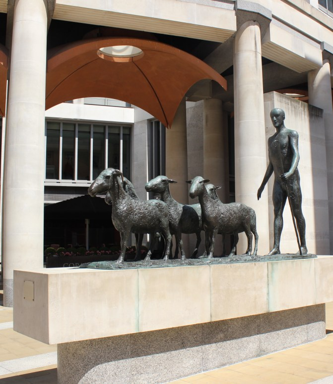 Paternoster Square Sheep Herder