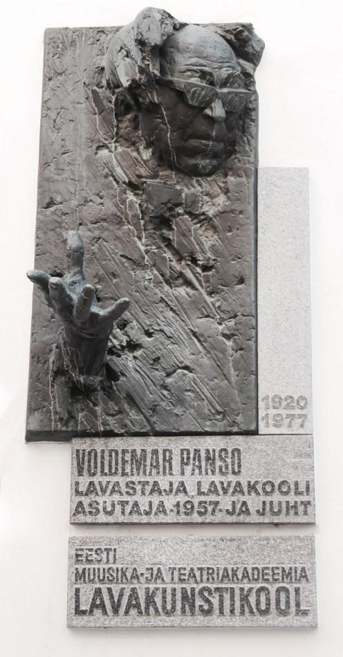 2016 Estonia Tallinn Voldemar Panso Sculpture