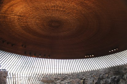 Church in the Rock Ceiling