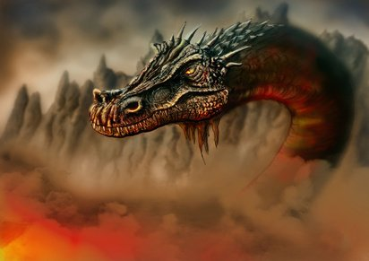 Dragons are a race at Jacmus Prime RPG