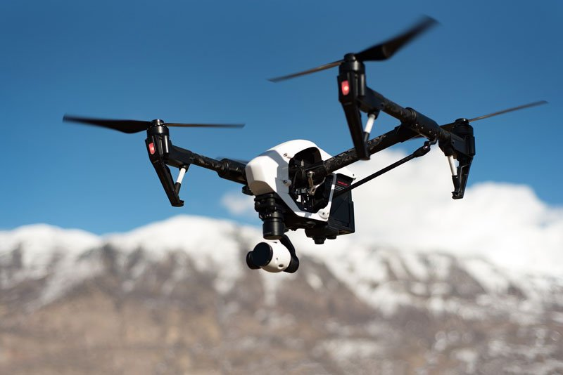 A drone with a camera watches people under the Patriot Act. Could this be George Orwell and 1984 come to life?