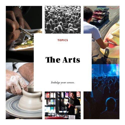 arts category banner jacmus