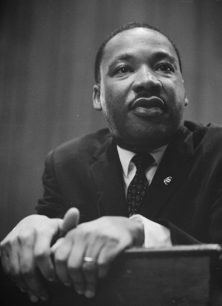 A great man, Dr. Martin Luther King, Jr.