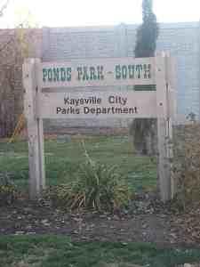 Ponds Park - Kaysville, Utah