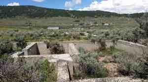 Soldier Summit ruins.