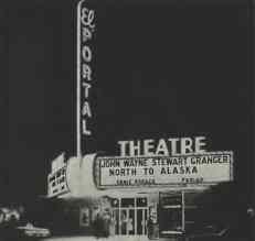 El Portal Theatre, Exterior, Las Vegas, NV.