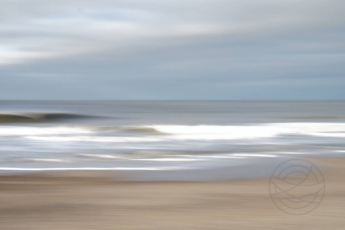 Eternal Encounter - Abstract realistic fine art seascape photography by Jacob Berghoef
