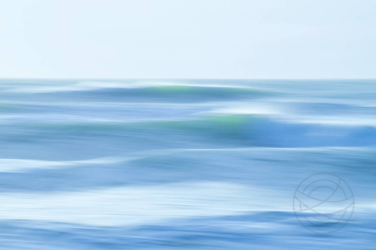 Slow Dance - Abstract realistic fine art seascape photography by Jacob Berghoef