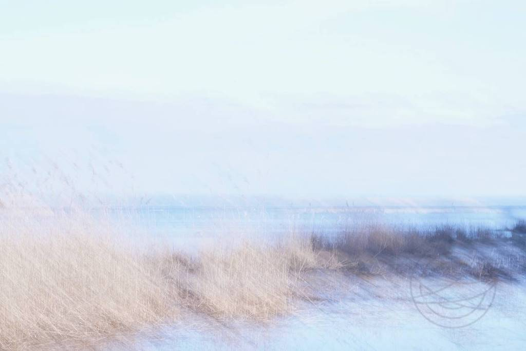 Sunlight Serenade - Abstract realistic fine art seascape photography by Jacob Berghoef