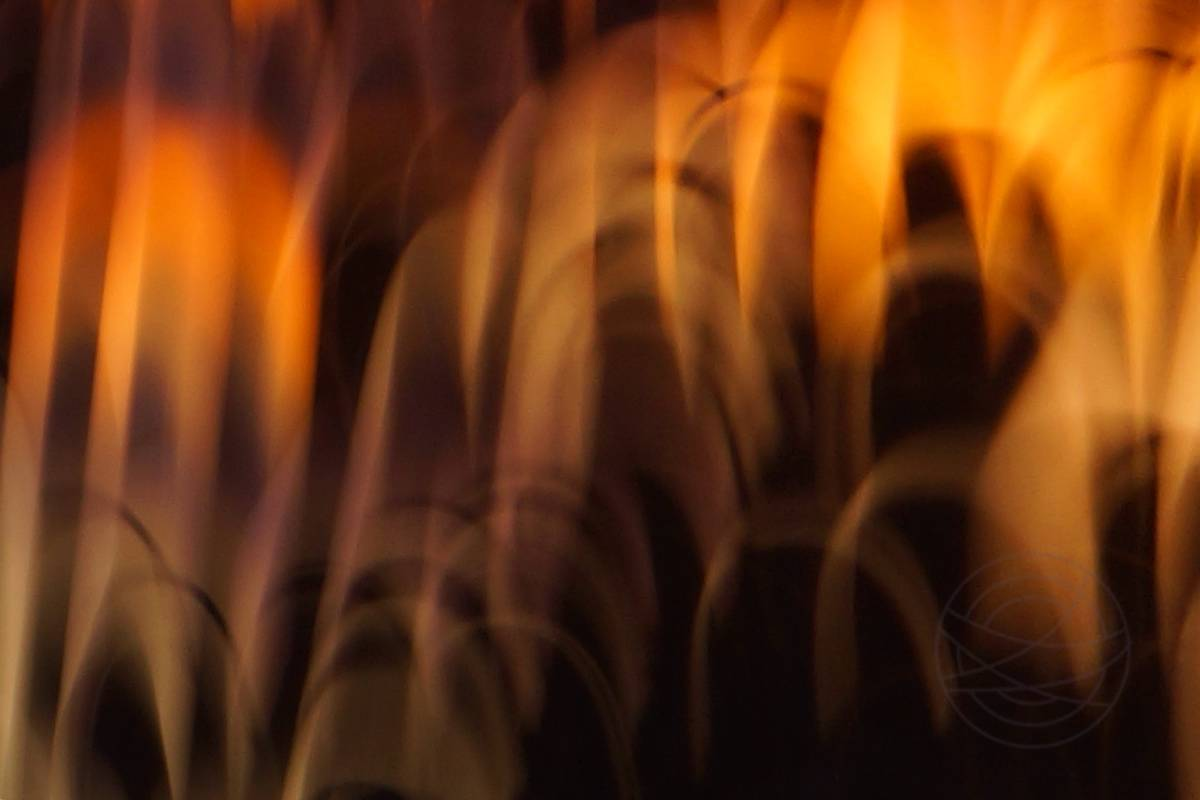 Bend Into The Night - Abstract expressionistic fine art photography by Jacob Berghoef
