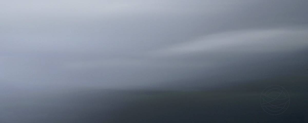 Fading Colors Of The Day - Abstract realistic fine art mountain landscape photography by Jacob Berghoef