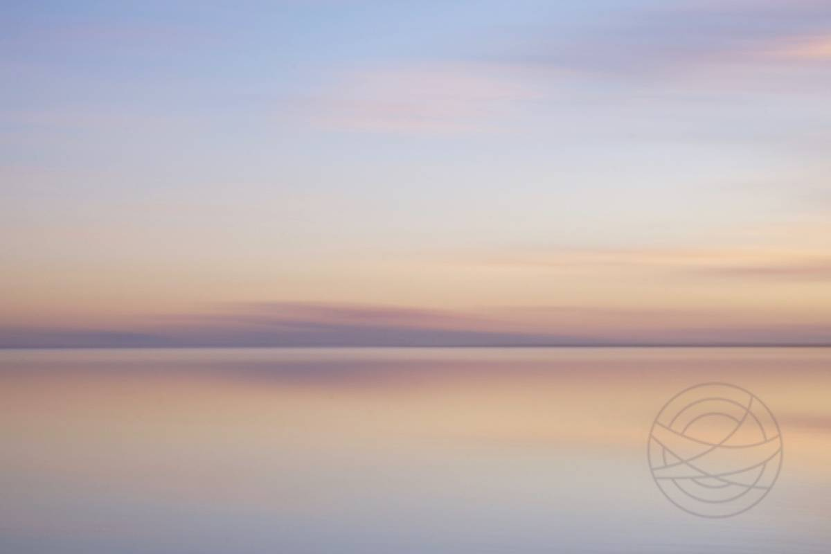 Pastel Flirt - Abstract realistic fine art landscape photography by Jacob Berghoef