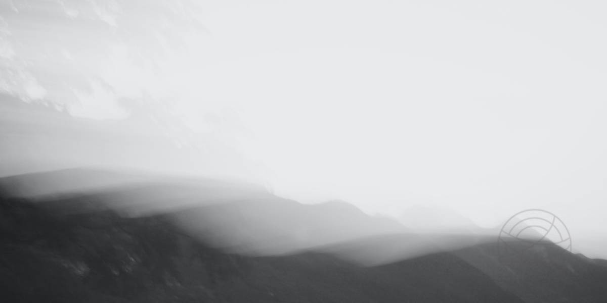 Silken Ripples (1) - Abstract realistic fine art mountain landscape photography by Jacob Berghoef