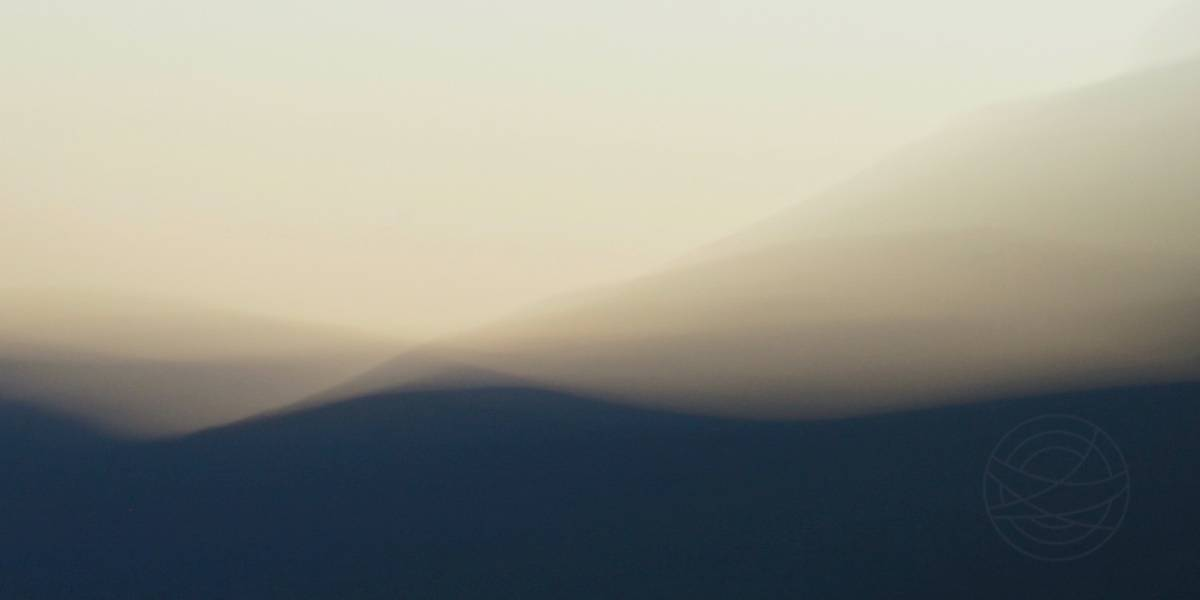 Wings Of The Night - Abstract realistic fine art mountain landscape photography by Jacob Berghoef