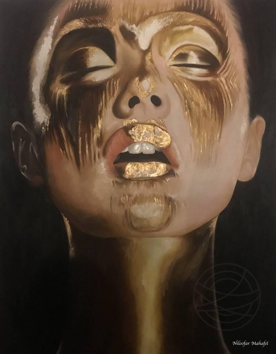 Niloofar Mahafel - Golden - dark