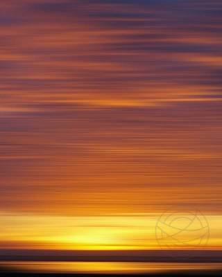 Burning Sunset - Part 3, photo by Jacob - Abstract fine art by Karina Mosser and Jacob Berghoef