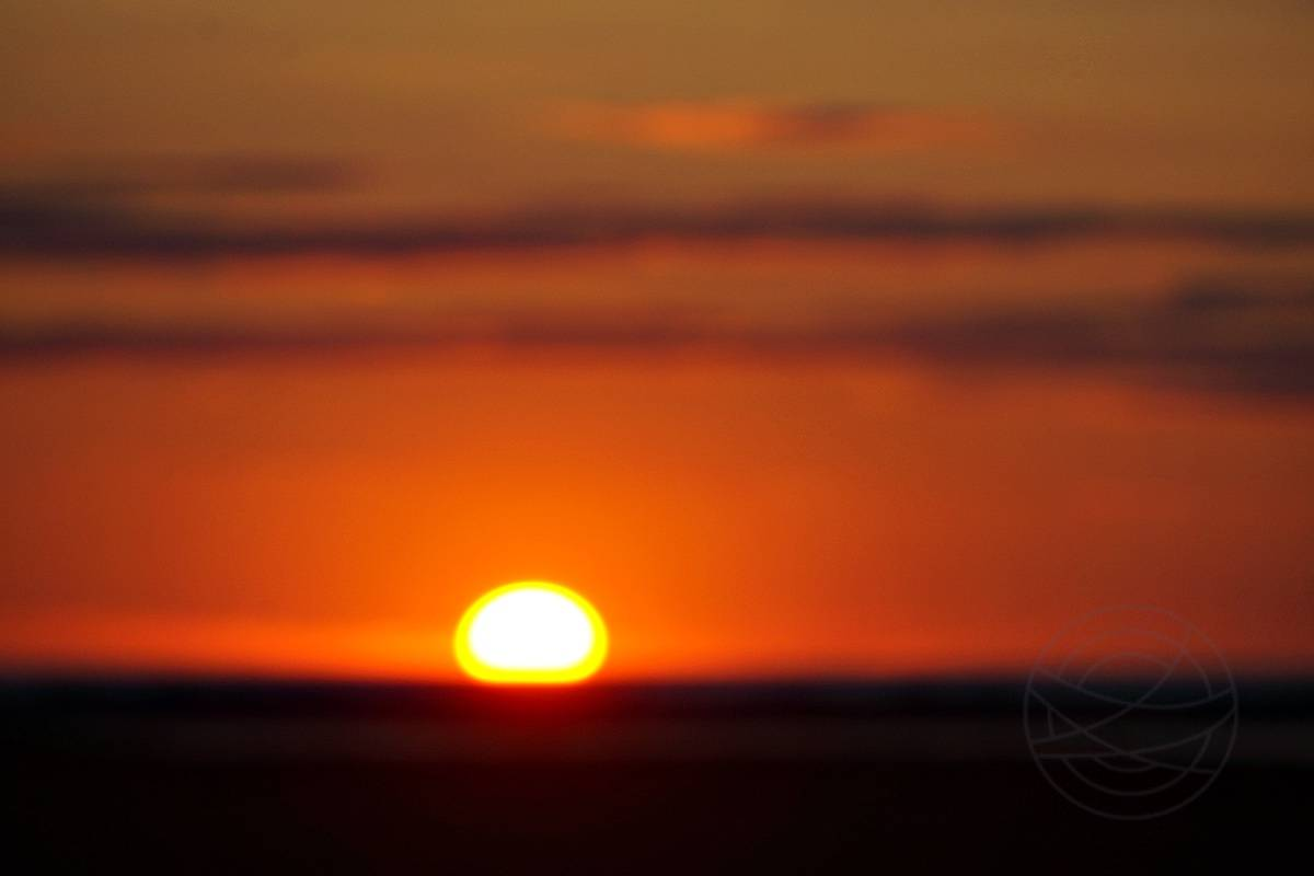 Beyond A Dream - Sunset above the North Sea - Abstract realistic fine art sunset photography by Jacob Berghoef
