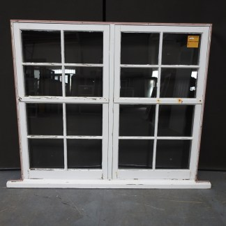 Colonial Wooden Double Awning Window