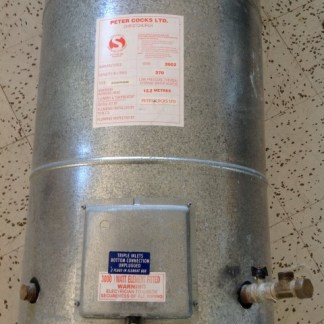 270 Litre Cocks Medium Pressure Hot Water Cylinder
